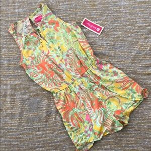 NWT Lilly Pulitzer for Target floral romper, S